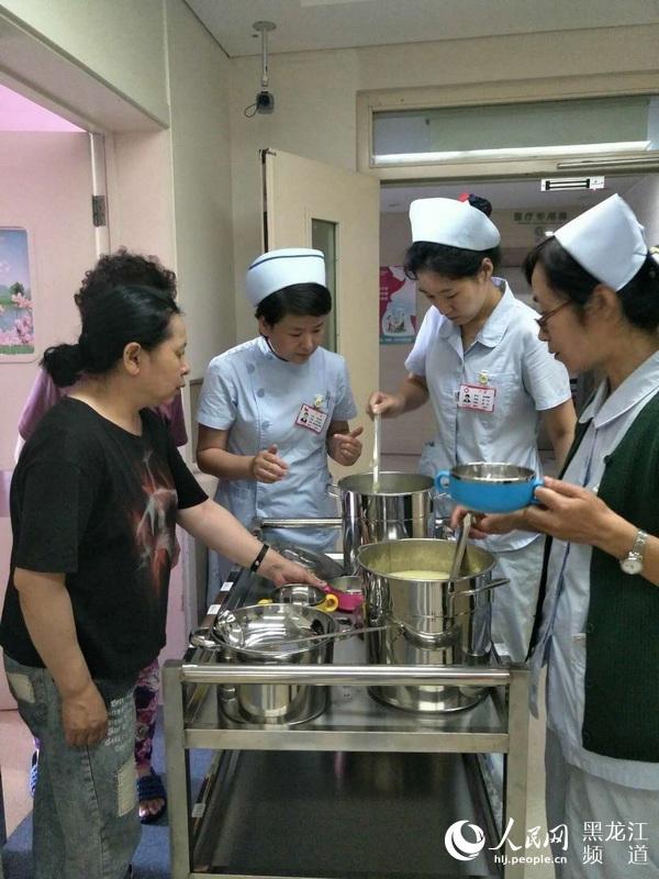 """黑龙江省医院""""月子餐""""受欢迎 制定食谱解决产妇后顾之忧"""